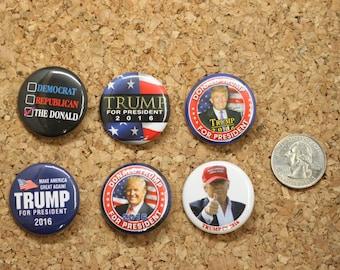 The I'm for Donald Trump Mini Button Pack 06