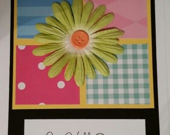 Get Well Card - flowers
