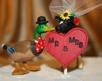 duck wedding cake toppers uk groom ducks etsy uk 13779