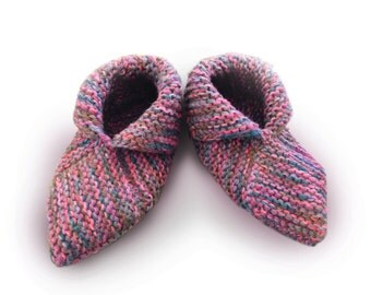 Knit slippers - Pantofole a maglia