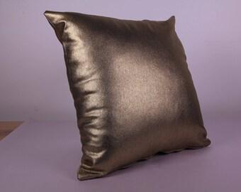 Cushion Cover - GOLD (40cm x 40cm)