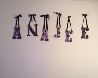 Hand Painted Personalized Letters