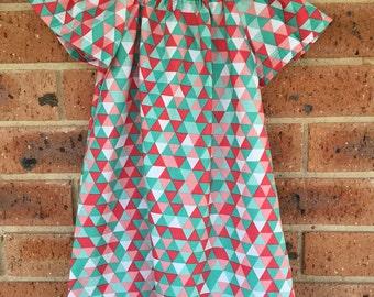 Short Sleeve Peasant Dress