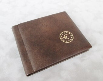 Coin Album for collection, GENUINE LEATHER