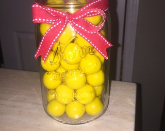 Yellow Bubble gum for candy bar