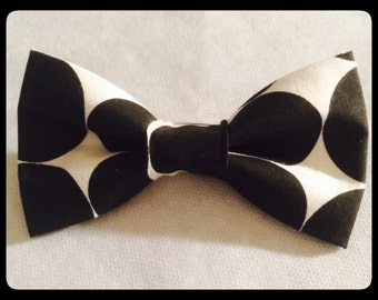 Black and White Bowtie