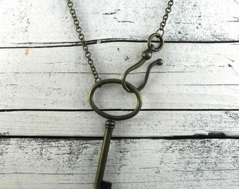 Simple key necklace