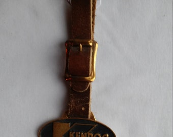 Vintage KENROC Heavy Equipment Co Advertising Watch FOB