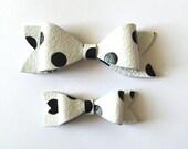 Handmade Leather Bow