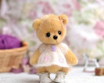 Teddy Bear Susie Animal Soft Toy Artist Bear to order