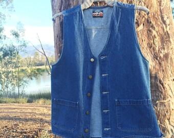Vintage High Sierra Denim Vest