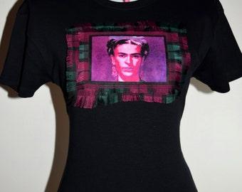 Frida Kahlo custom made bespoke t-shirt - Gift for her - Novelty Gifts