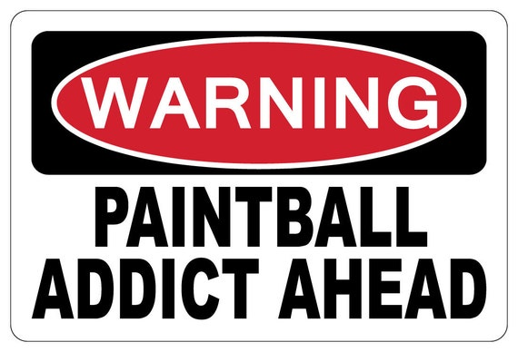 paintball sign - photo #19
