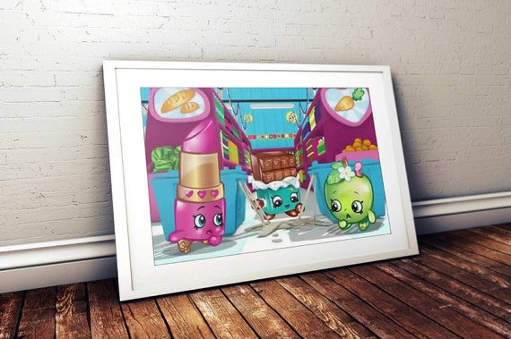 Shopkins 8x10 Print. Available In Digital By