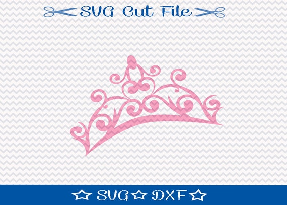 Princess Crown Svg Cutting File Svg File For Silhouette