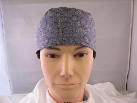 Men's Scrub Hat Grey