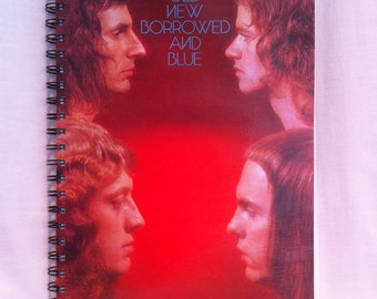 1973 Slade Old New Borrowed and Blue Notebook
