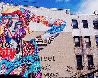 Big City Dreams© - NYC Graffiti - New York Street Art