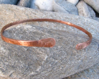 Delicate copper bangles