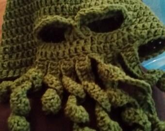 Cthulhu Ski Mask- hat