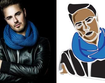 Personalised Portrait, Digital Download