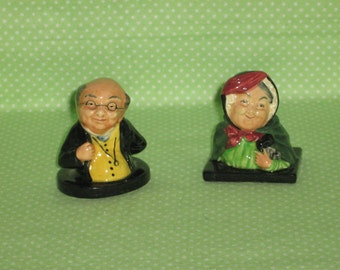 Royal Doulton Figurines - Mr.Pickwick and Sairy Gamp