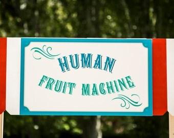 Human Fruit Machine -Template - PDF - Direct Download