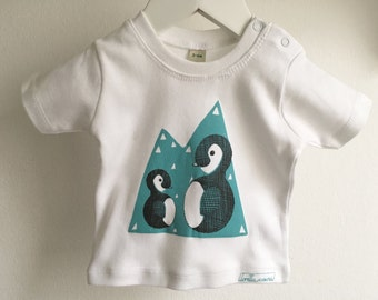 Baby T-Shirt * Penguin * organic cotton