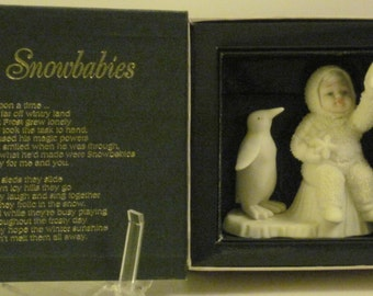 Dept 56-- WISHING ON A STAR    ---  Winter Tales Snowbabies