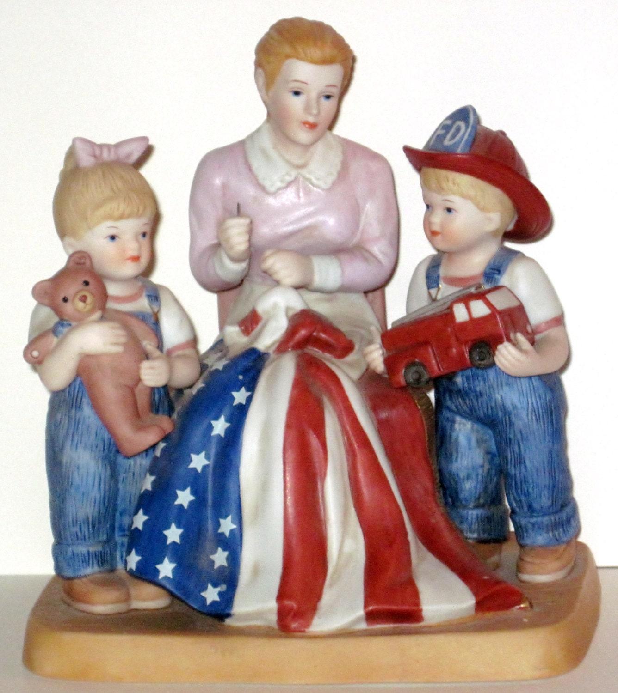 Denim Days Sweet Land Of Liberty Ceramic