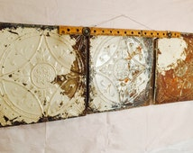 Steampunked Antique Ceiling Tiles