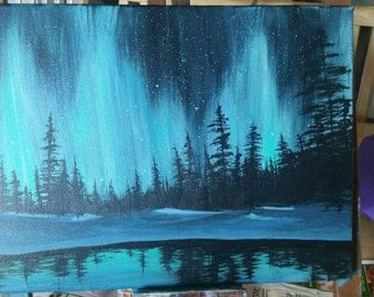 Northern lights, Aurora Borealis (original)