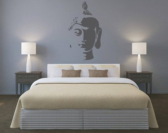 Buddha Wall Art - Vinyl wall decal