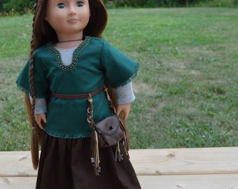 18 inch American Girl Doll Medieval Outfit