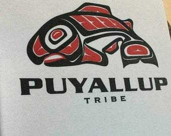 Native American Salmon hoodies