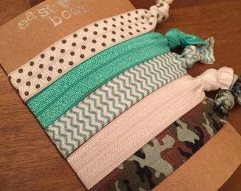 Hair Tie Bracelets: Hilly / Creaseless Hair Ties