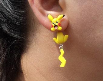 Pokemon Pikachu Earrings