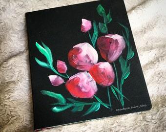 Tulip Rose Journaling Bible