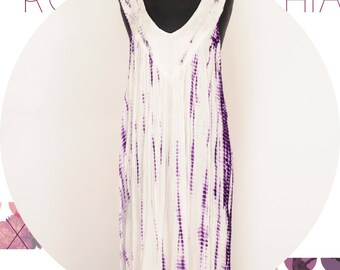 Bohemian Gypsy Junkies tie dye Summer Dress and swim suit cover up