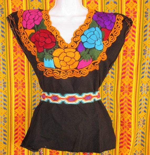 Mexican Blouse Chiapas 97