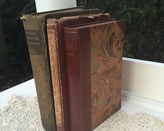 Vintage Three Book Bundle