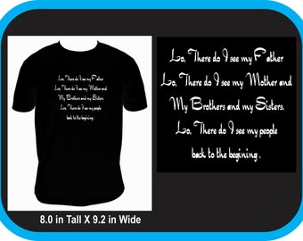 Viking Prayer Tee Shirt