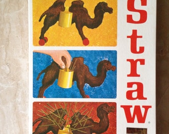 """Vintage Game, """"The Last Straw,"""" 1966 Game by Schaper Manufacturing, Made in the USA, American Made"""