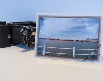 """PHOTO CARD / Greeting Card / Note Card / Seagull Card by Rebel Cause Photography - """"Seagull at Sarnia Bay"""""""