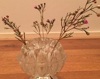 Vintage small vase. Flower bulb. Also for cigarettes. 1960's.