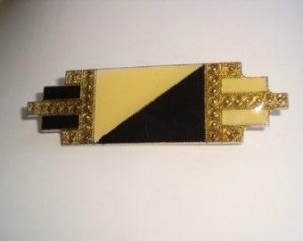 Art Deco Coat Pin