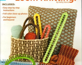 Sale! LOOM PATTERN BOOK / i Can't Believe I'm Loom Knitting / For Round and Long Knifty Knitter Looms