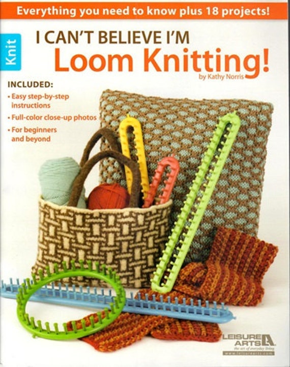 Sale LOOM PATTERN BOOK / i Cant Believe Im Loom