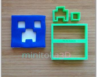 Minecraft Icon Cookie Cutter