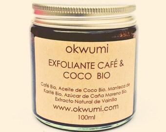 coffee-coconut body scrub